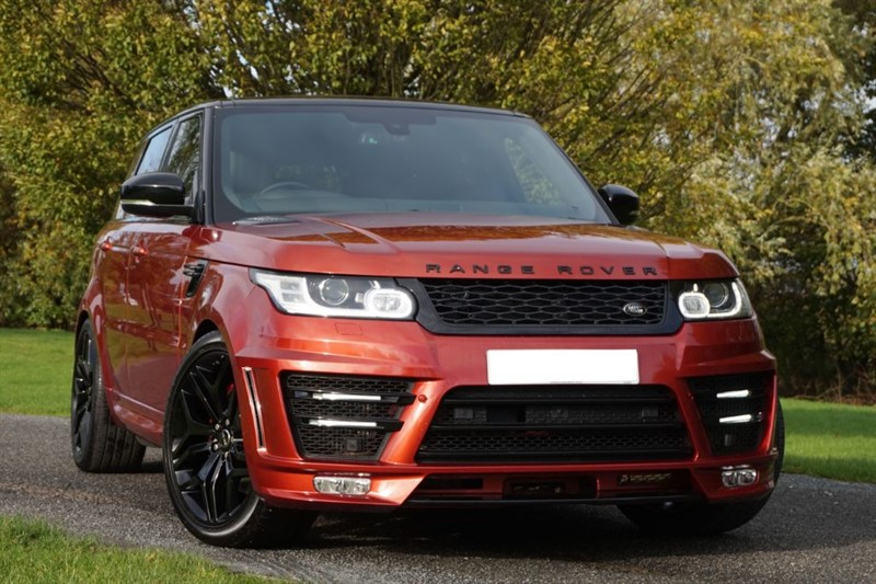 used Land Rover Range Rover Sport SDV6 AUTOBIOGRAPHY DYNAMIC ** 1 OWNER + PAN ROOF + LUMMA ** in essex