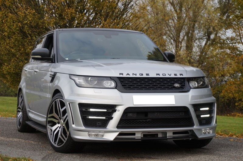 used Land Rover Range Rover Sport AUTOBIOGRAPHY DYNAMIC ** RARE ELECTRIC HYBRID ** RED LEATHER ** in essex