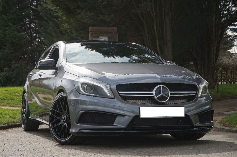 "used Mercedes A45 AMG 4MATIC ** PAN ROOF & 2016 19"" ALLOYS ** in essex"