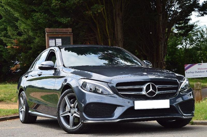 used Mercedes C220 BLUETEC AMG LINE ** REVERSE CAMERA & PARK ASSIST ** in essex