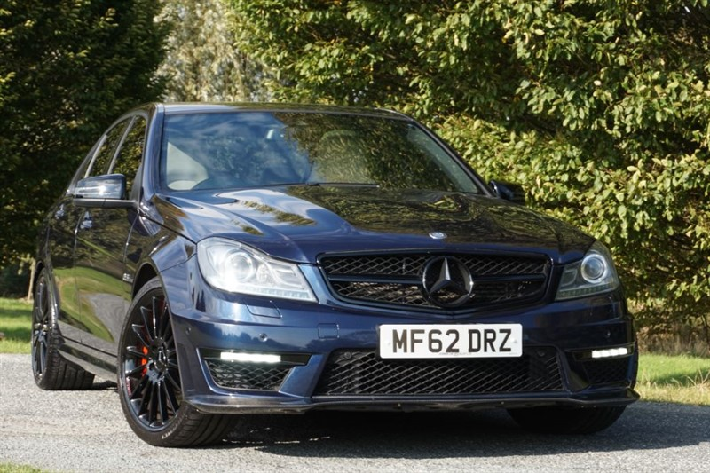 used Mercedes C63 AMG ** RARE COLOUR COMBO ** FULLY DE CHROMED ** in essex