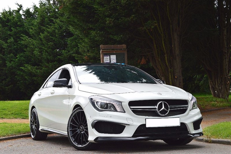 used Mercedes  CLA CLA45 AMG 4MATIC ** PAN ROOF / HK HI FI ** FULL SPEC ** in essex