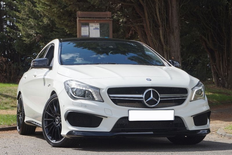 used Mercedes  CLA CLA45 AMG 4MATIC ** 440 BHP ** STAGE 2 RE MAP & DE CAT ** in essex