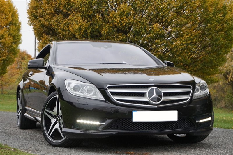 used Mercedes  CL CL500 BLUEEFFICIENCY ** AMG BODY KIT & ALLOYS ** in essex