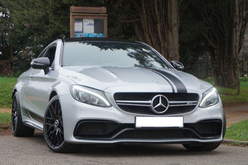 used Mercedes  C-CLASS AMG C 63 S ** EDITION 1 STYLING **  in essex