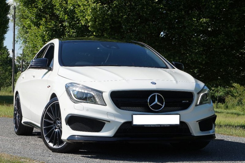 used Mercedes  CLA CLA45 AMG 4MATIC ** PAN ROOF & HK HI FI ** in essex