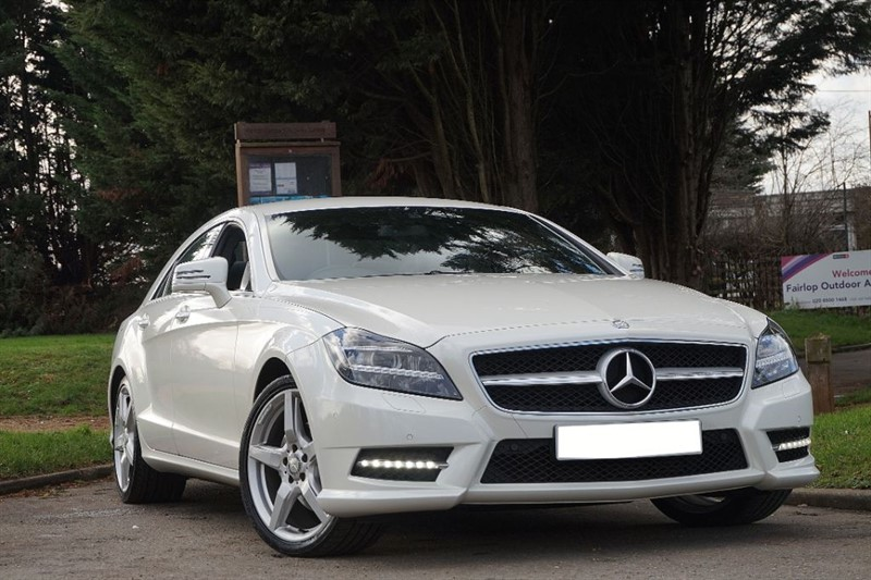 used Mercedes CLS CLS250 CDI BLUEEFFICIENCY AMG SPORT ** REVERSE CAMERA & SAT NAV **  in essex