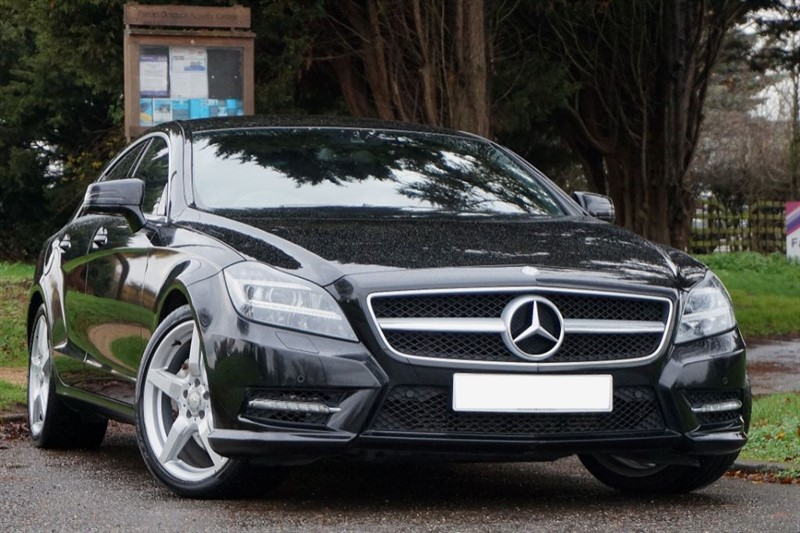 used Mercedes CLS CLS350 CDI BLUEEFFICIENCY AMG SPORT  in essex