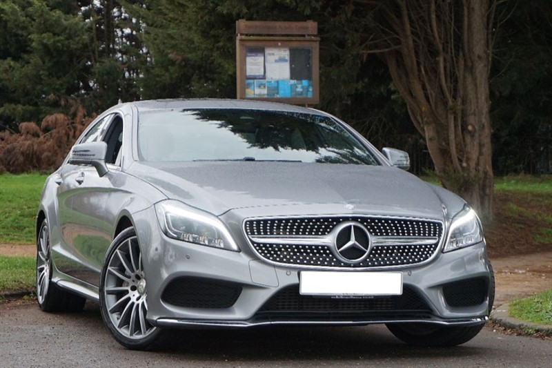 used Mercedes CLS CLS350 BLUETEC AMG LINE PREMIUM ** FACE LIFT MODEL ** SUNROOF **  in essex