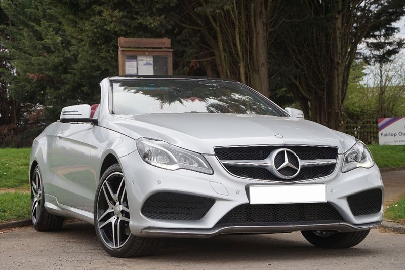 used Mercedes E200 AMG SPORT ** RED ROOF & LEATHER ** in essex