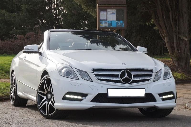 used Mercedes E220 CDI BLUEEFFICIENCY SPORT in essex