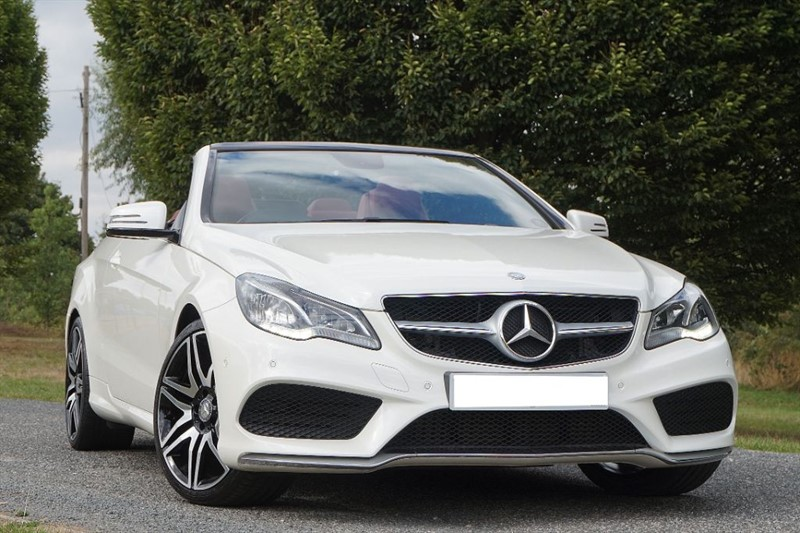 used Mercedes E350 BLUETEC AMG SPORT ** RED ROOF & RED NAPPA LEATHER ** in essex