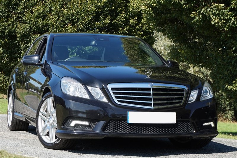 used Mercedes E350 CDI BLUEEFFICIENCY SPORT ** IMMACULATE EXAMPLE ** 1 OWNER FROM NEW ** in essex