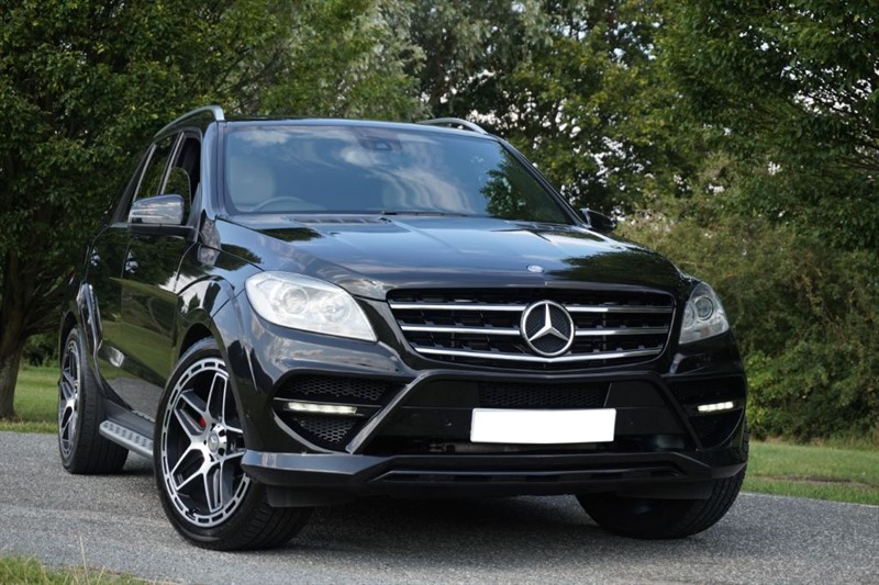 used Mercedes ML250 AMG LINE ** FILL KAHN CONVERSION ** in essex