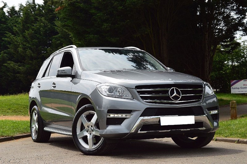 used Mercedes ML350 BLUETEC SPORT ** TOTALLY IMMACULATE ** ONLY 17K MILES ** in essex