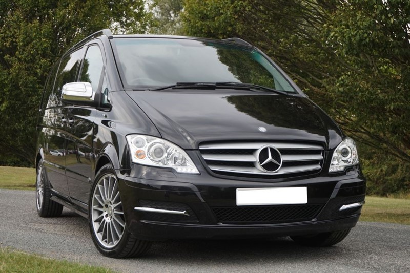 "used Mercedes Viano CDI BLUEEFFICIENCY AVANTGARDE ** 19"" AMG ALLOYS ** SPORTS SEATS ** in essex"