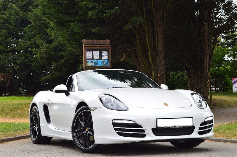 used Porsche Boxster 981 ** 1 YEAR PORSCHE WARRANTY ** IMMACULATE EXAMPLE ** in essex