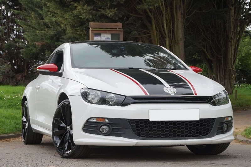 used VW Scirocco GTS TDI ** LEATHER & PAN ROOF ** in essex