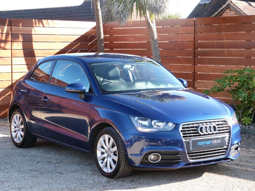 used scuba blue metallic audi a1 for sale dorset. Black Bedroom Furniture Sets. Home Design Ideas