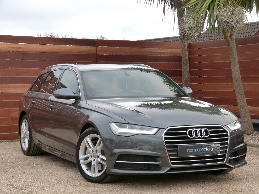 used grey audi a6 avant for sale dorset. Black Bedroom Furniture Sets. Home Design Ideas