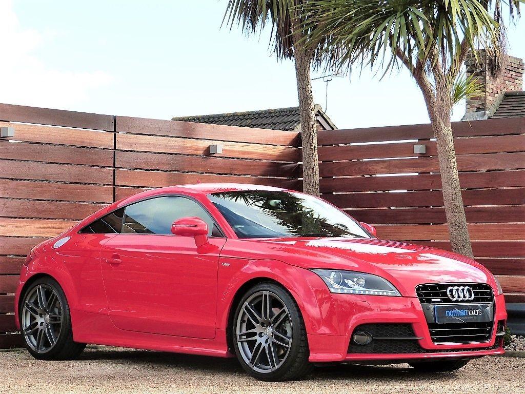 Used Misano Red Audi Tt For Sale Dorset