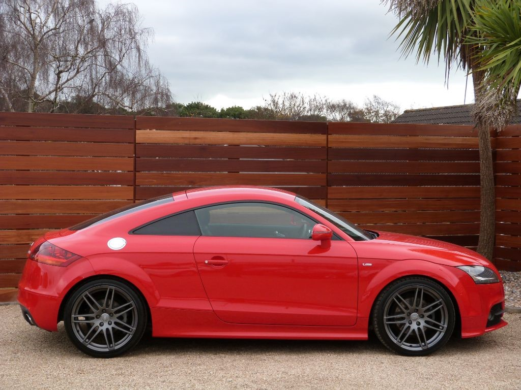 used misano red audi tt for sale