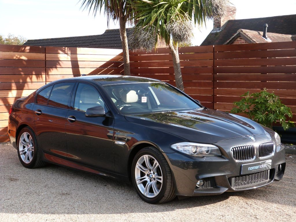 used dark graphite grey bmw 525d for sale dorset. Black Bedroom Furniture Sets. Home Design Ideas