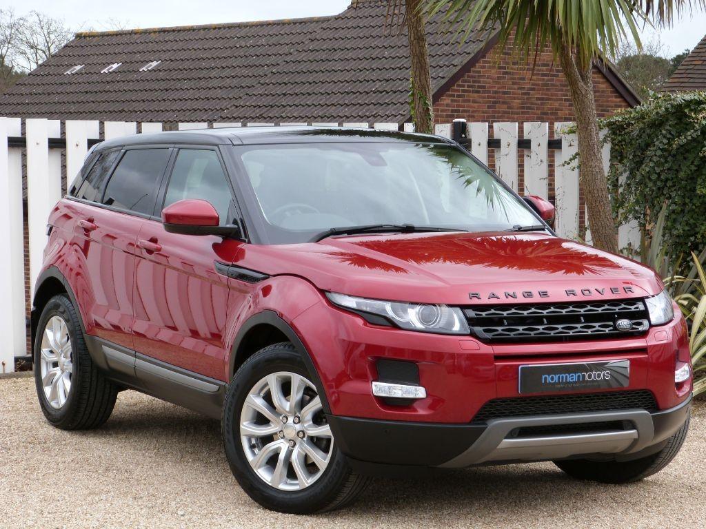 used firenze red land rover range rover evoque for sale dorset. Black Bedroom Furniture Sets. Home Design Ideas