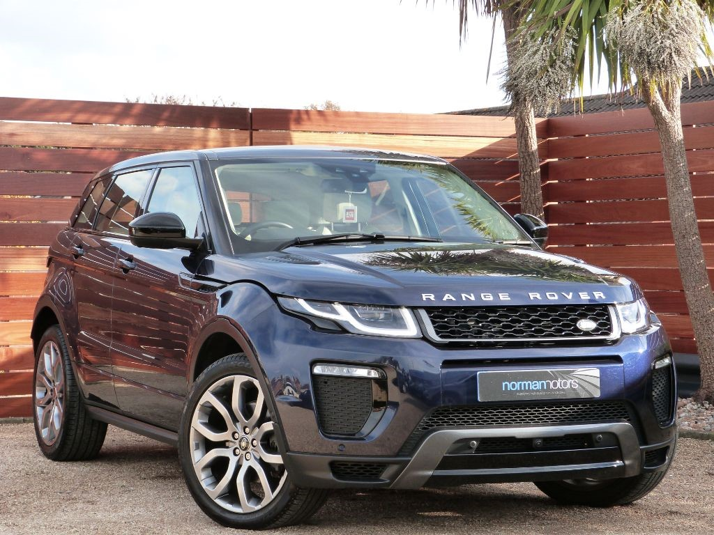 used loire blue land rover range rover evoque for sale dorset. Black Bedroom Furniture Sets. Home Design Ideas