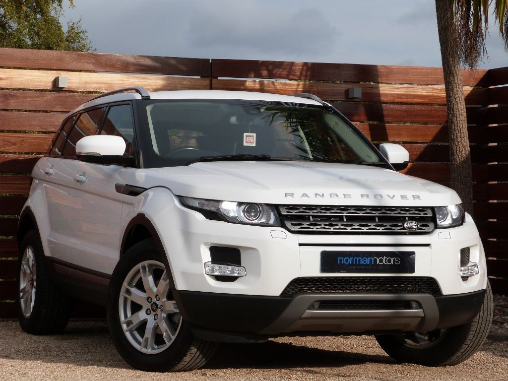 Used Fuji White Land Rover Range Evoque For Sale Dorset Prev