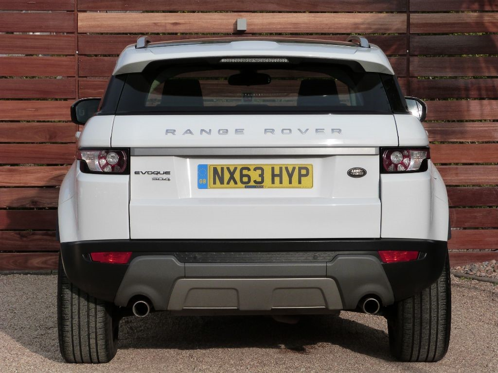 Used Fuji White Land Rover Range Evoque For Sale Dorset Prev