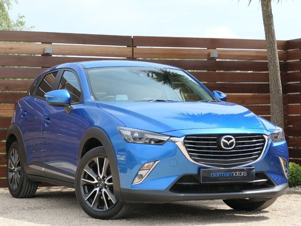 Used Dynamic Blue Mazda Cx 3 For Sale Dorset