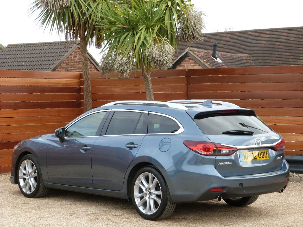 used blue mazda mazda6 for sale dorset. Black Bedroom Furniture Sets. Home Design Ideas
