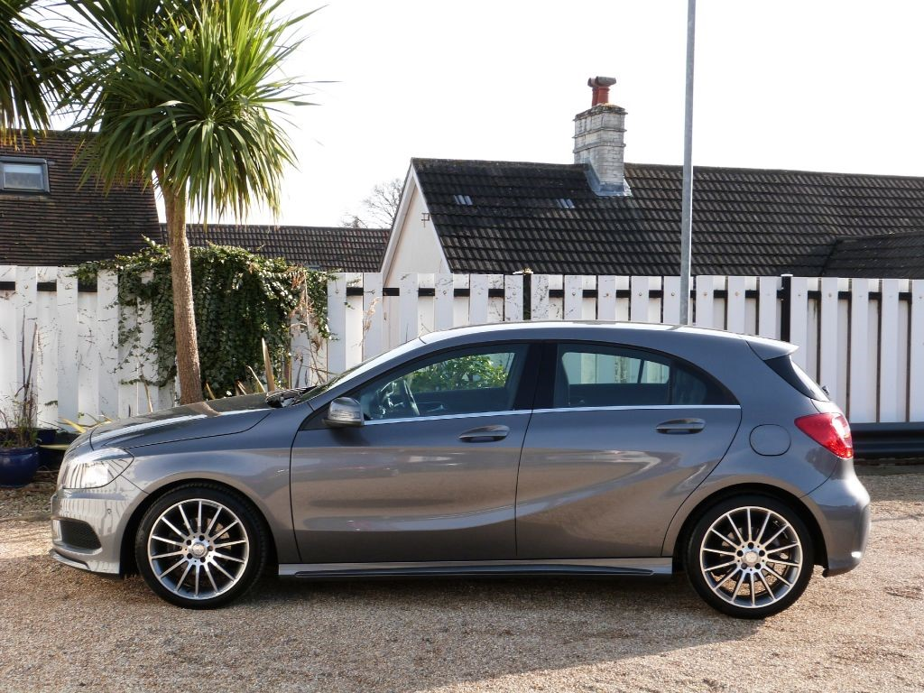 used mountain grey metallic mercedes a200 for sale dorset. Black Bedroom Furniture Sets. Home Design Ideas