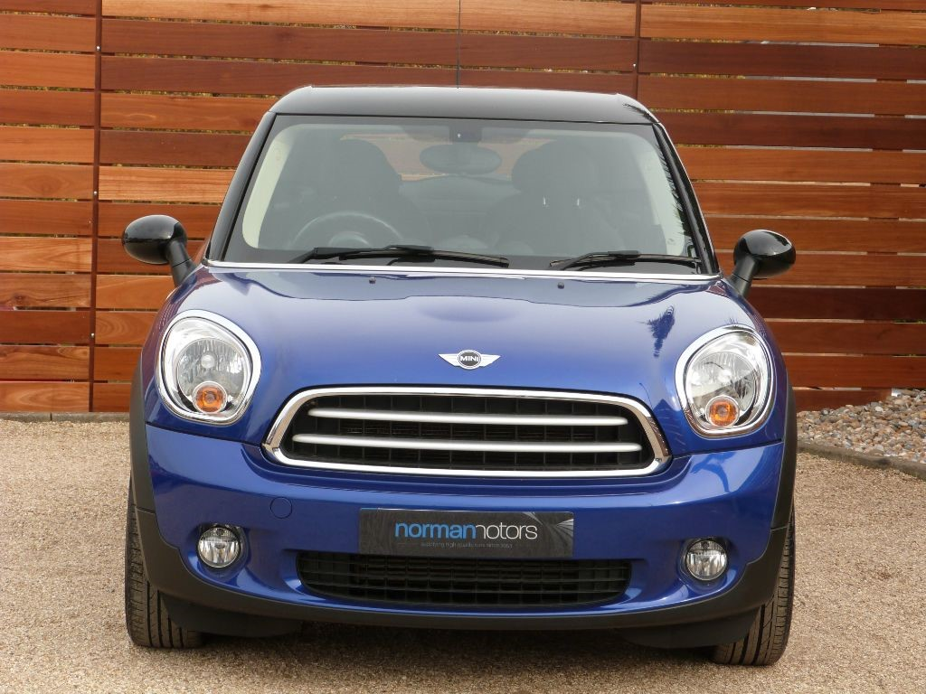 used starlight blue metallic mini paceman for sale dorset. Black Bedroom Furniture Sets. Home Design Ideas