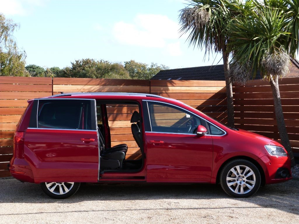 Used Salsa Red Seat Alhambra For Sale Dorset