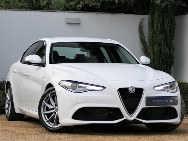 used Alfa Romeo Giulia TB VELOCE