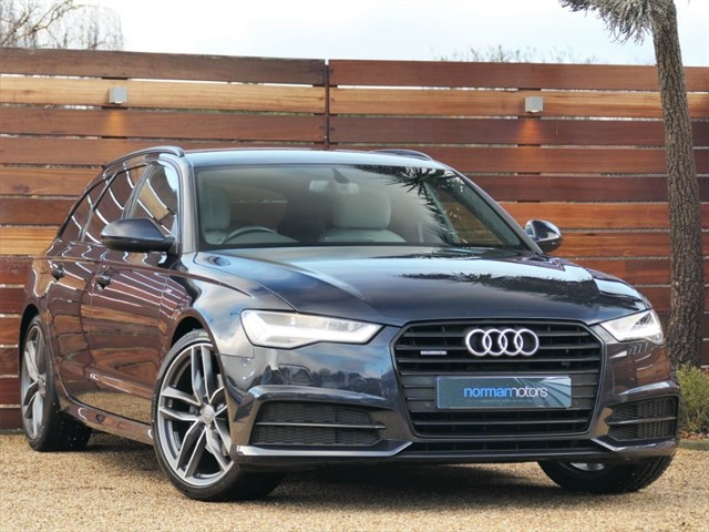 used Audi A6 AVANT TDI QUATTRO S LINE BLACK EDITION