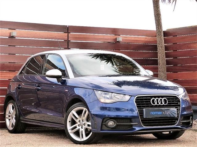 used Audi A1 SPORTBACK TFSI S LINE