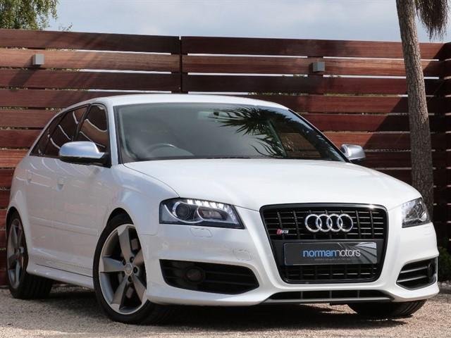 used Audi A3 S3 SPORTBACK TFSI QUATTRO BLACK EDITION