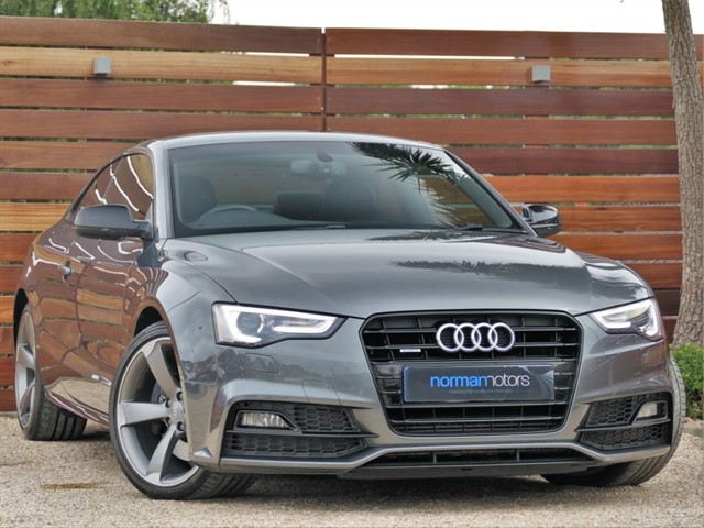used Audi A5 TDI QUATTRO S LINE BLACK EDITION PLUS