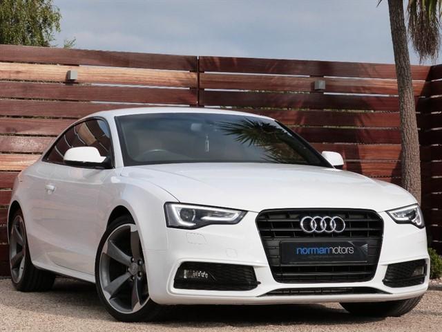 used Audi A5 TFSI S LINE BLACK EDITION