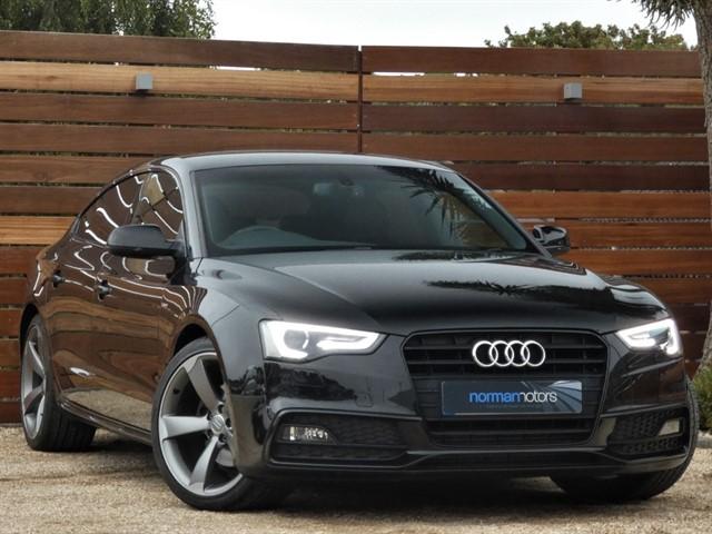used Audi A5 SPORTBACK TFSI S LINE BLACK EDITION PLUS