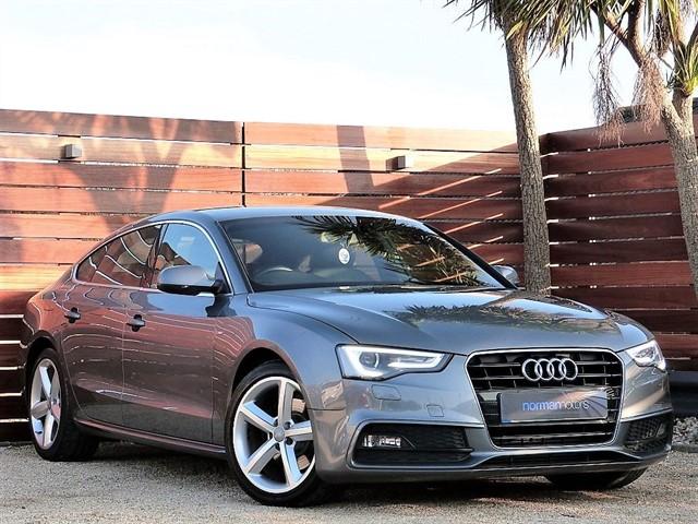 used Audi A5 SPORTBACK TDI S LINE