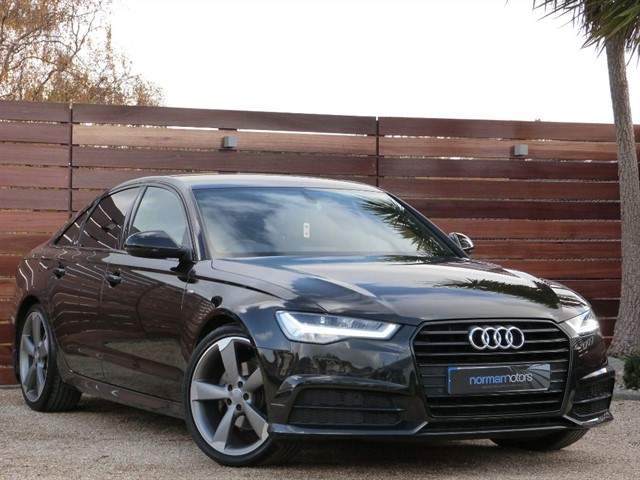 used Audi A6 TDI ULTRA S LINE BLACK EDITION