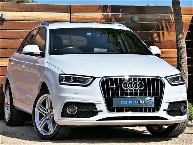 used Audi Q3 TDI QUATTRO S LINE PLUS