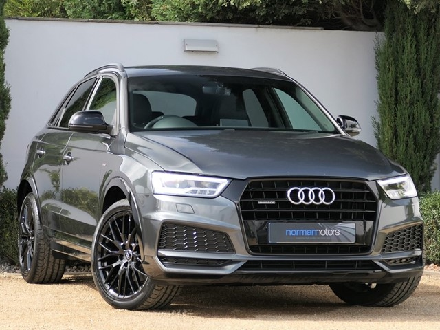 used Audi Q3 TDI QUATTRO S LINE BLACK EDITION