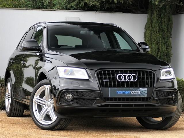 used Audi Q5 TDI QUATTRO S LINE PLUS