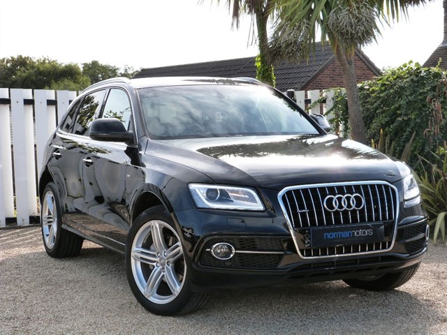 used Audi Q5 TDI QUATTRO S LINE PLUS START/STOP