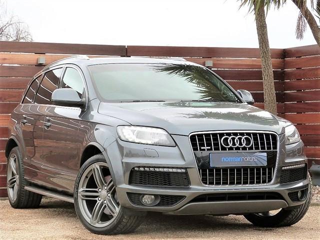 used Audi Q7 TDI QUATTRO S LINE PLUS